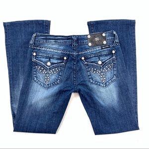 Miss Me JW5305B3 Distressed Boot Jeans